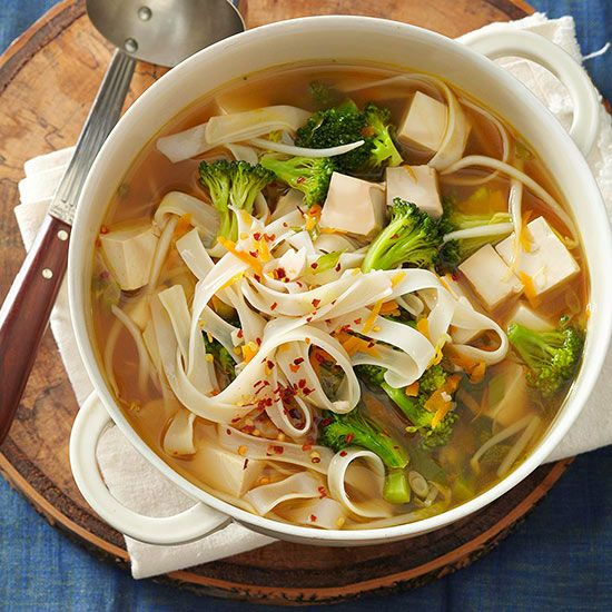 Whether you like your soup chunky or smooth, we have a vegetarian soup recipe that fits the bill. From classics like fresh tomato soup to hearty vegetable stews, these warming vegetarian soups will quickly become favorites in