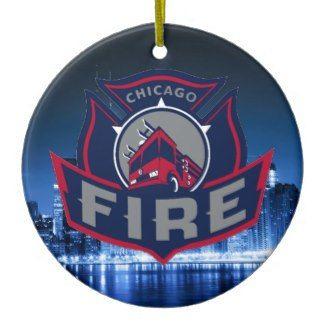 Chicago Christmas Ornament Fire Service