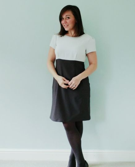Laura's Megan dress - sewing pattern in Love at First Stitch