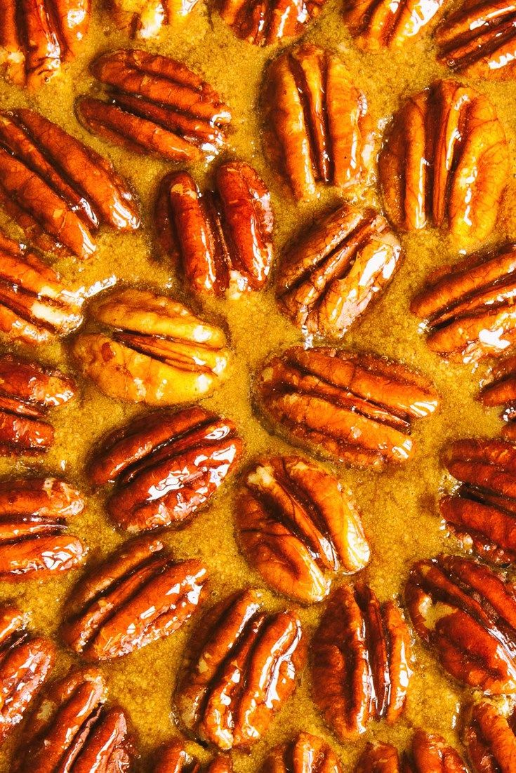 This stunning pecan pie recipe by chef Andy McLeish will give you all the sweetness you need this Thanksgiving.