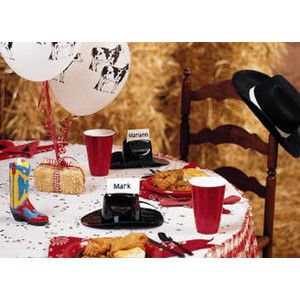 western theme party theme western hoedown table decorations shindigz 1f054a