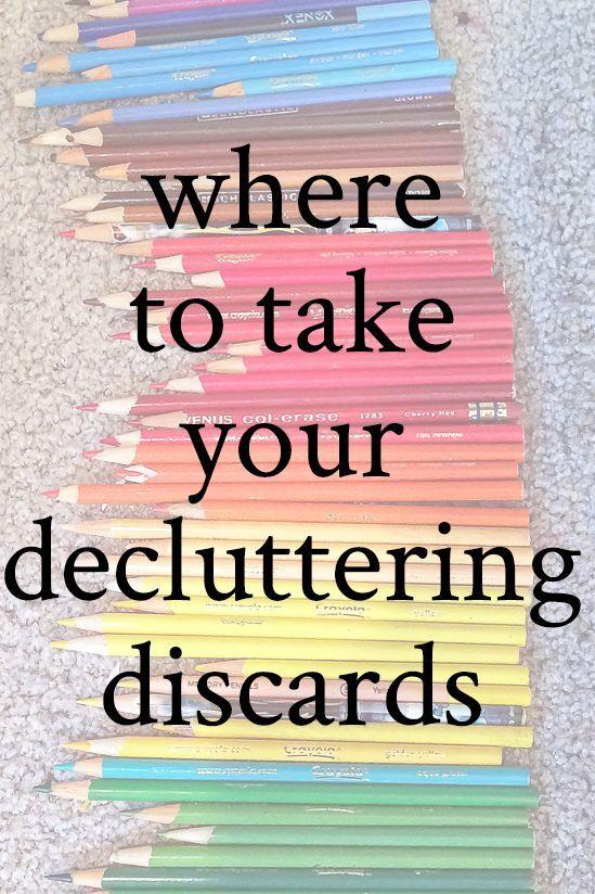 #declutterchallenge #declutteringtips #homeorganizing #wheretodonate