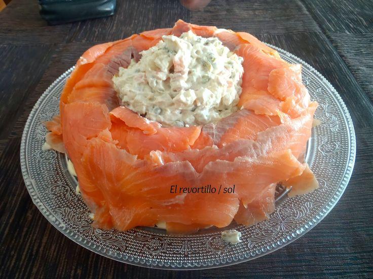 1000 images about tus recetas de salm n ahumado on for Canape de salmon ahumado