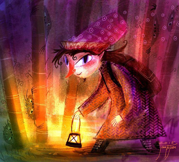 magic character in the night ..OO..