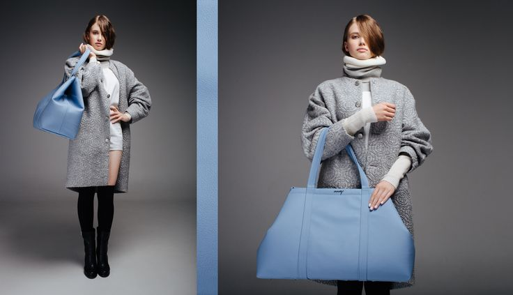 www.my-bag.pl leather blue big bag:)