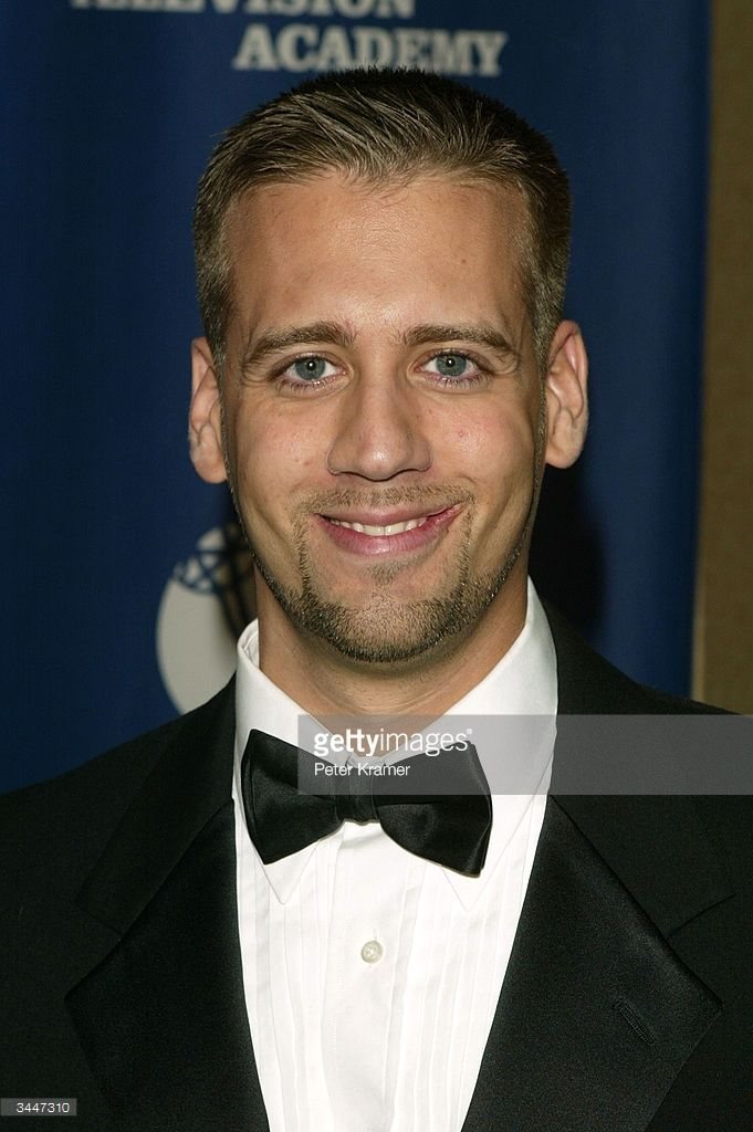 Sports announcer Max Kellerman attends the 25th Annual Sports Emmy Awards April 19, 2004 in New York City.