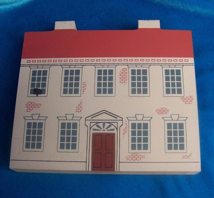 Cats Meow John Witherspoon Home NJ 1992 Signers of Declaration Collectors Club #CatsMeow