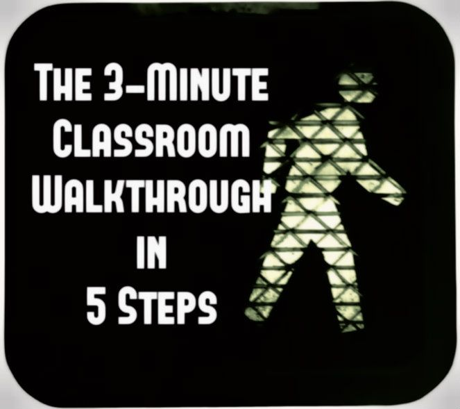 classroom walkthrough                                                                                                                                                      More