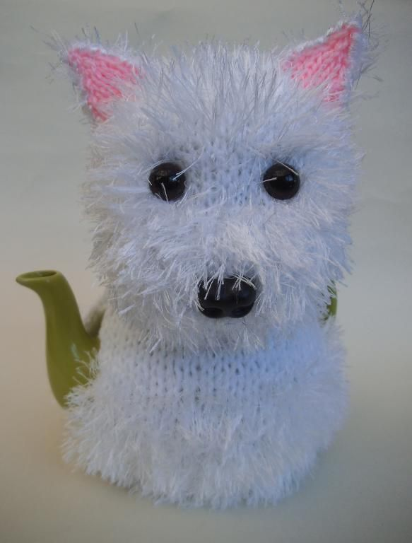 Looking for your next project? You're going to love Westie Tea Cosy Knitting Pattern by designer susan_teacosyfolk.