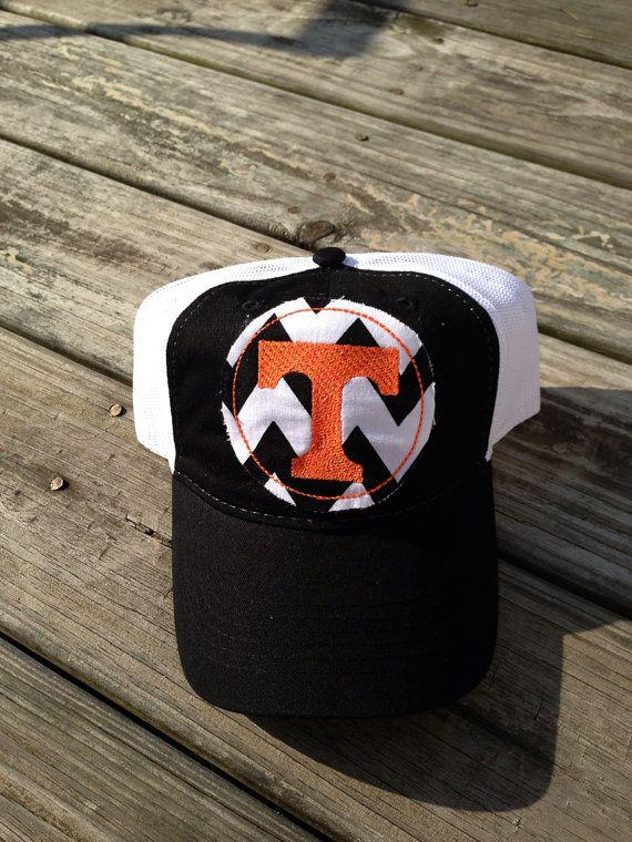 Tennessee vols football hat, big orange cap, volunteers football on Etsy, $18.00