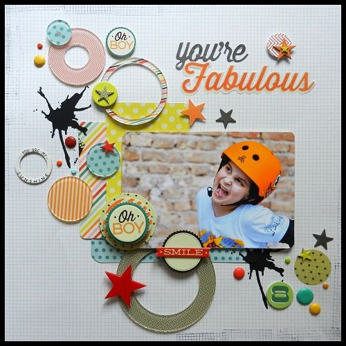 You are fabulous - Hey Kid collection by Pink Paislee