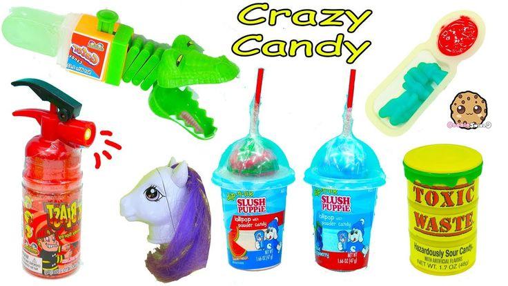 Crazy Weird Candy Haul Video – Spray Sour Candies, Juicy Drop Gum + More wikipra… – Prank Ideas
