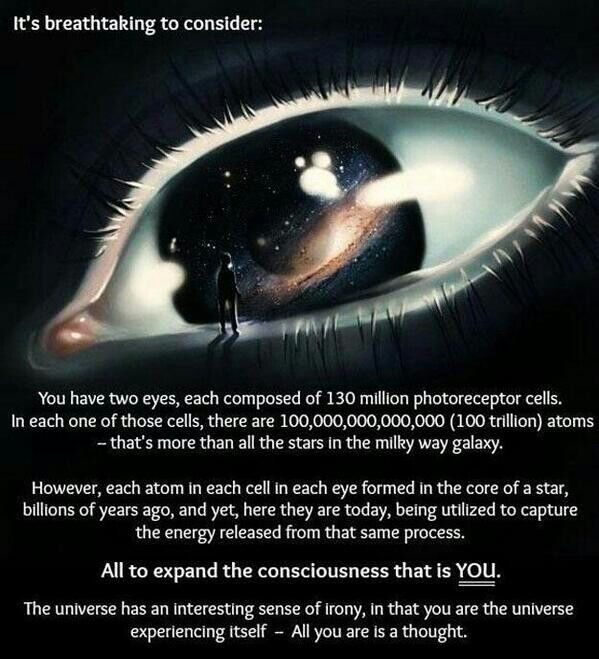 Wow. Its all in perception