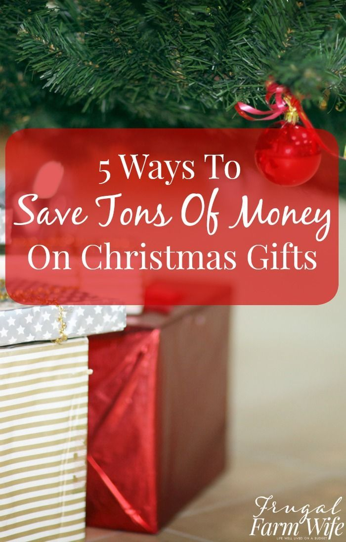 5 tricks to save TONS of money on Christmas gifts - if you start early enough, you could even have Christmas for free!