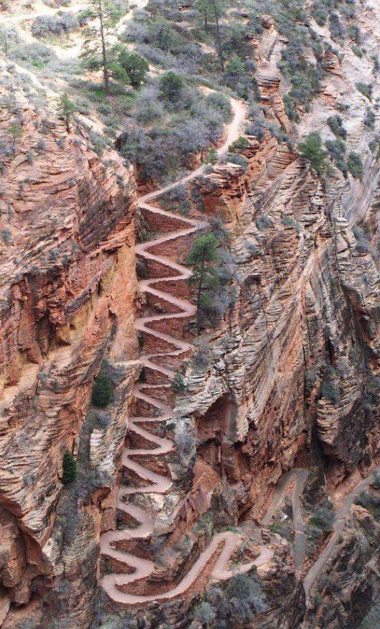50 Astonishing Photos of Marvelous Places Around the World, That You Must Visit (Part 2), Walter's Wiggles Zion National Park Utah USA