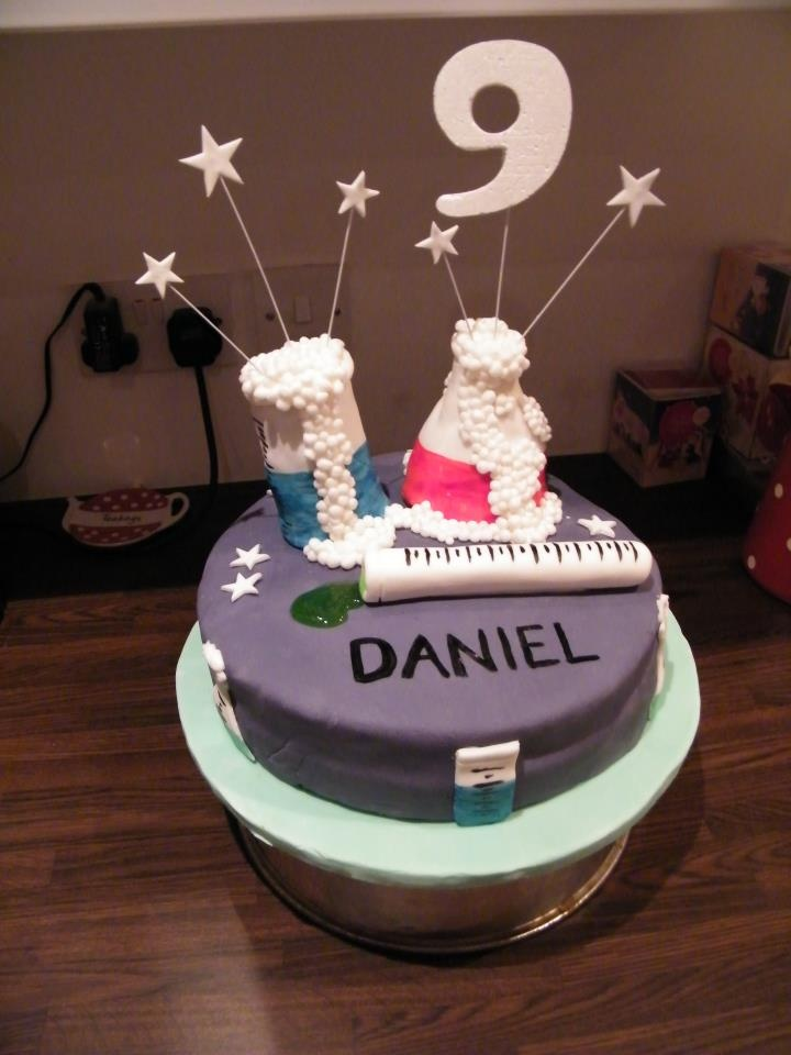 Scientist Birthday Cakes For Girls
