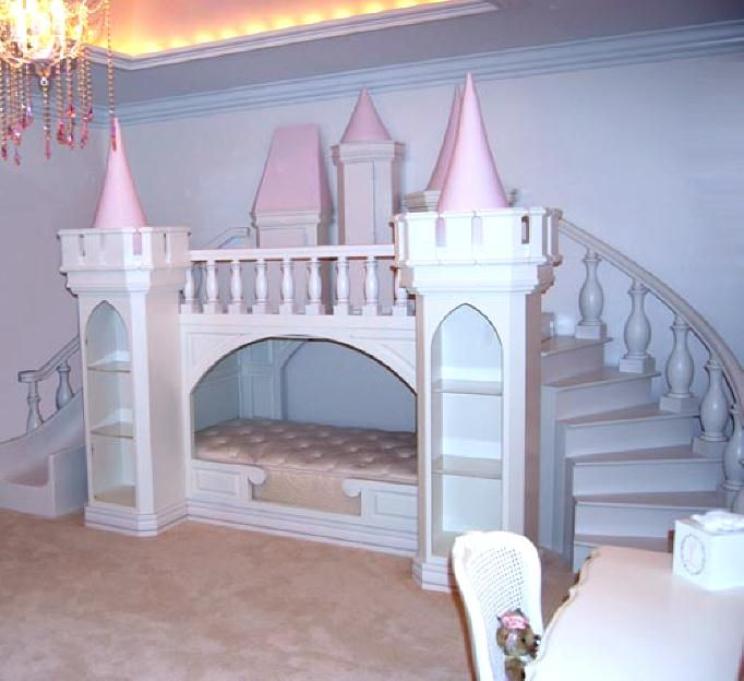 """""""Priness Palace Playhouse Bed"""" for my 2 little princesses <3"""