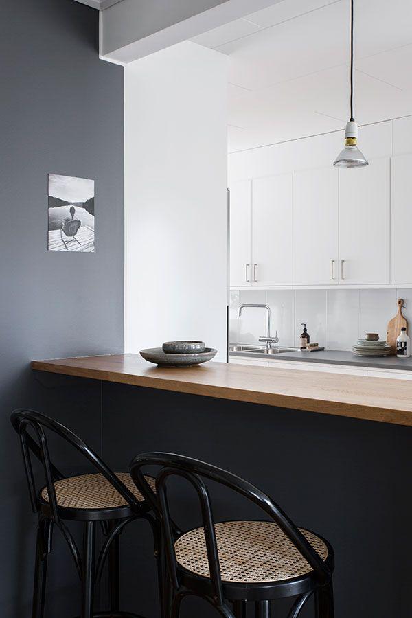 Dark grey kitchen / Cocina en grises