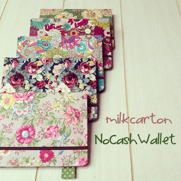 MilkCarton No Cash Wallet