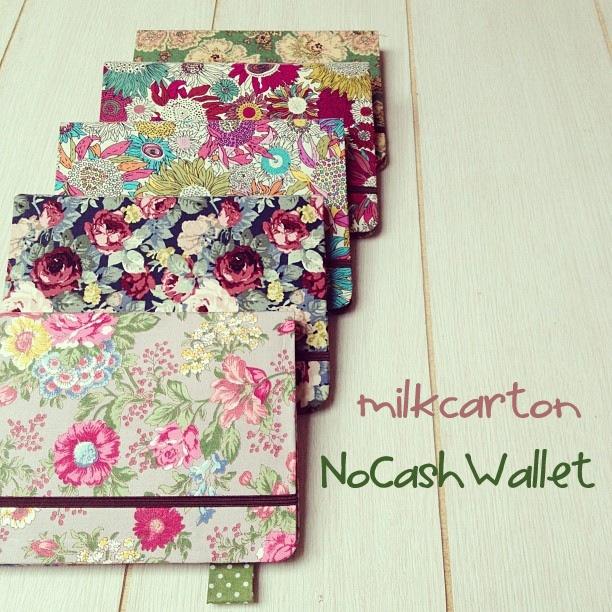 MilkCarton No Cash Wallet