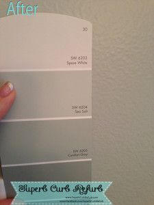 How to pick the perfect paint color! http://www.SuperbCurbRefurb.com