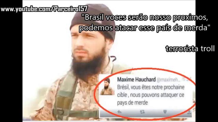 #Terrorismo Terrorista ameaça atacar o Brasil 2016: Mais uma vez esses babacas ameaçam atacar o Brasil, essa semana um Terrorista escreveu…
