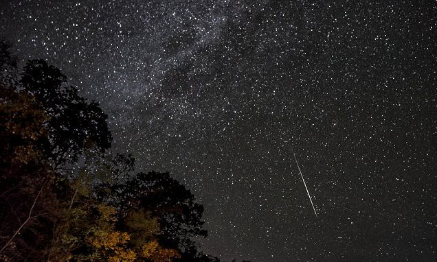 Stargazers are in for a spectacular show tonight (Oct 21& 22 ) as debris from Halley's Comet rains down to Earth's atmosphere in the annual Orionid meteor shower. The event will peak early Friday morning.