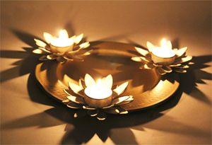 3 Lotus Platter T-light Holder Rs 1199/- http://www.tajonline.com/gifts-to-india/gifts-HVI15.html?aff=pint2014/