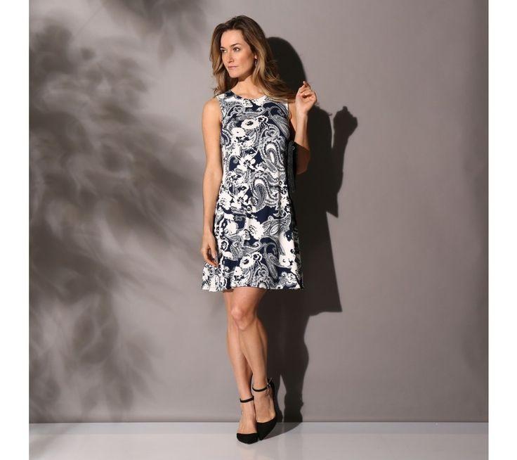 Úpletové šaty s potlačou | blancheporte.sk #blancheporte #blancheporteSK #blancheporte_sk #dress