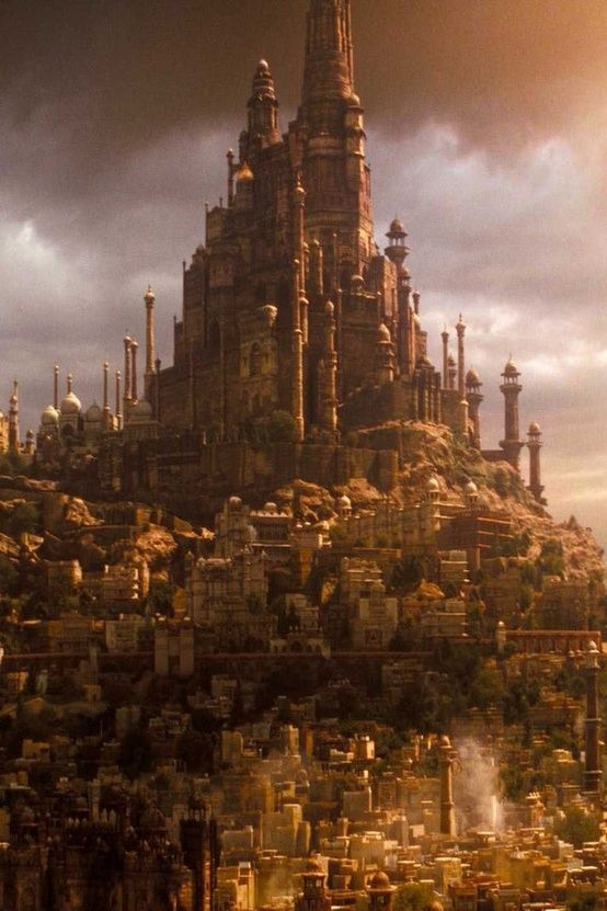 (OPEN RP)This the High City of Aubria, where the Royals and other high ranking people live. Lower down is were the rest of the commoners live.