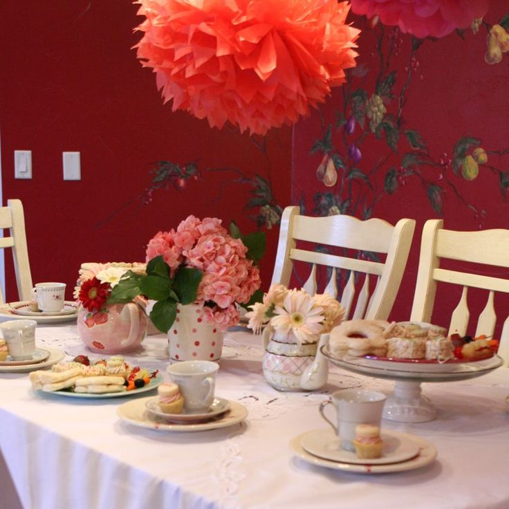 Birthday Table Presentation: Best 25+ Tea Party Table Ideas On Pinterest