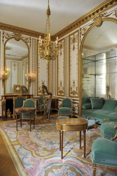 Versailles : Cabinet de Musique  Versailles Intime, les petits appartements de Marie-Antoinette