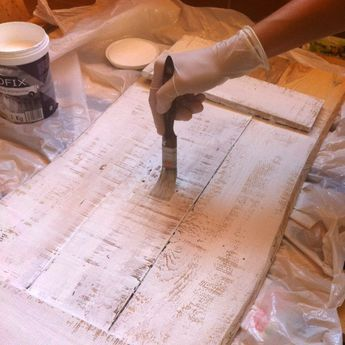 Como hacer un cartel vintage en madera | La curiosidad que no mató al gato
