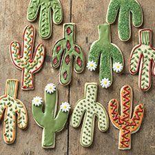 Cactus cookie