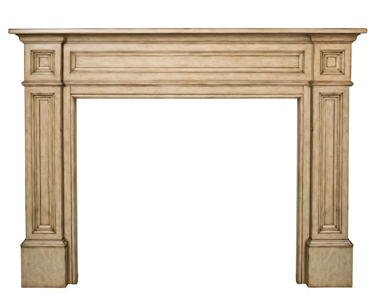 Pearl Mantels 140-56-25 The Classique 56-Inch Fireplace Mantel Tuscany Finish