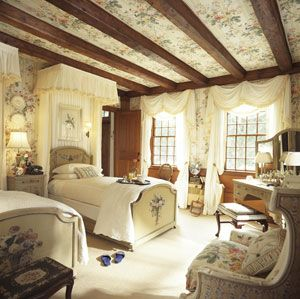 Lovely English Country Bedroom