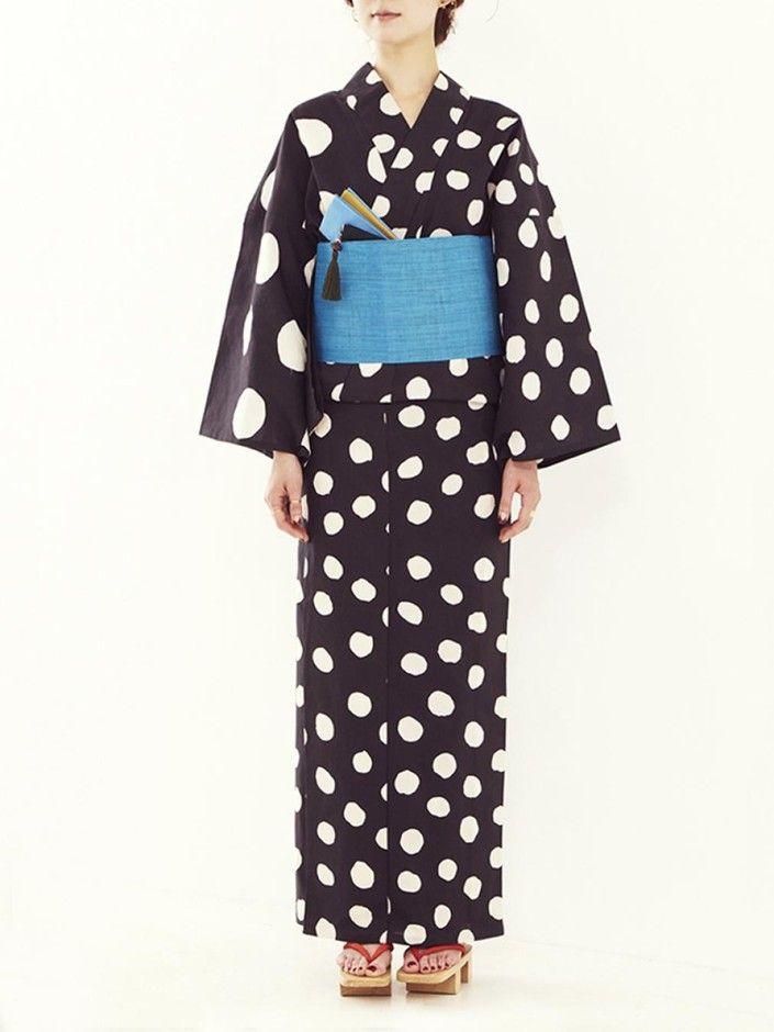 Kimono, Yukata, 浴衣