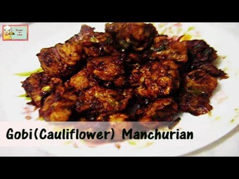 Crispy Gobi(Cauliflower) Manchurian by RecipesYouLike