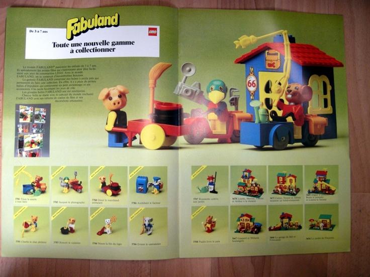 [SCAN] catalogues Fabuland (Légo)