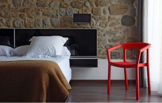 Krzesło Peach - czerwone