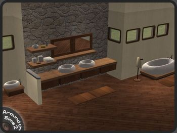Around The Sims 2 | Objects | Bathroom | Bubble Four More Colour  Combinations Available.