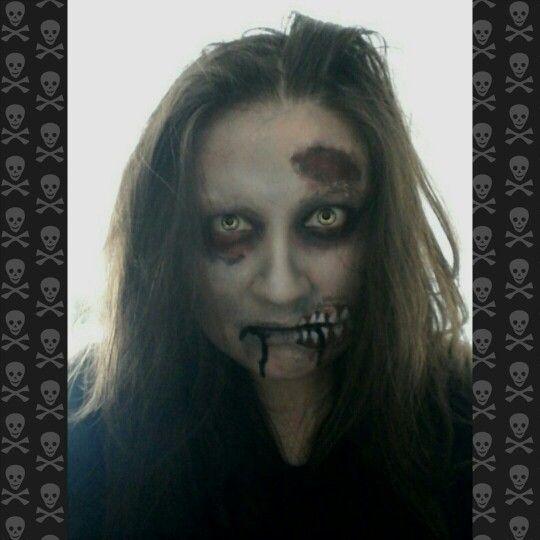 #zombie #makeup #halloween