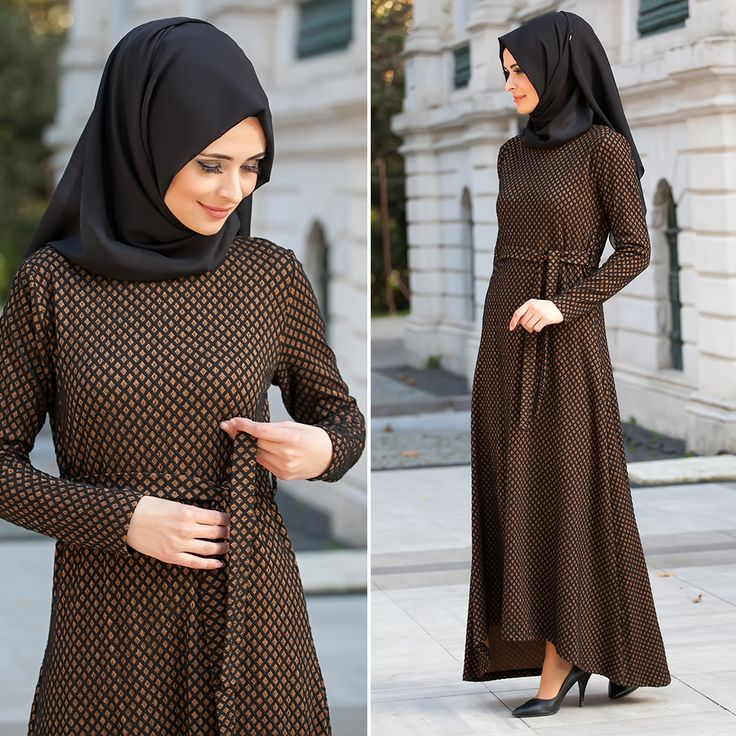 NEVA STYLE - DRESS - 40750-01TB #hijab #naylavip #hijabi #hijabfashion #hijabstyle #hijabpress #muslimabaya #islamiccoat #scarf #fashion #turkishdress #clothing #eveningdresses #dailydresses #tunic #vest #skirt #hijabtrends
