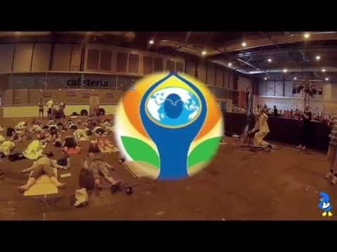 International Day of Yoga Madrid 2016 with Shilpa Shetty (IIFA Stomp) - YouTube
