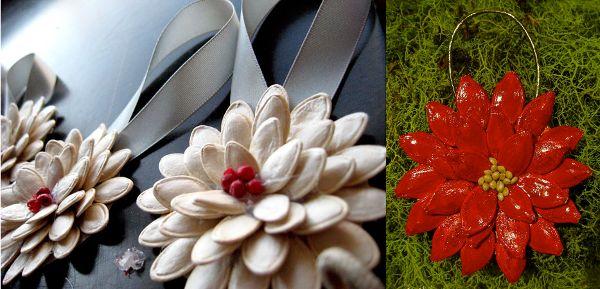Flores de semillas para navidad