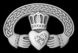 Irish Claddagh The claddagh is the Irish marriage symbol with the heart symbolizing love, lifes purest impulse, the hands of friendship clasped around the heart, coming together to nurture and protect. The crown is symbolic of loyalty, representing loves endurance throughout life.