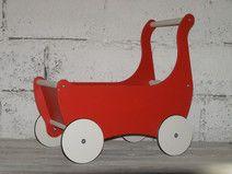 Ekologiczny drewniany wózek/ pchacz/ chodzik