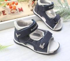пакет экспорта Мальчики следуют полный кожаные сандалии рыбы желчного пузыря расположение оригинальной коробки ясельного малыша обувь 19-24 ярдов F