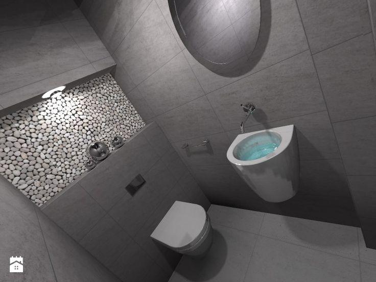 Łazienka - Styl Skandynawski - Design By