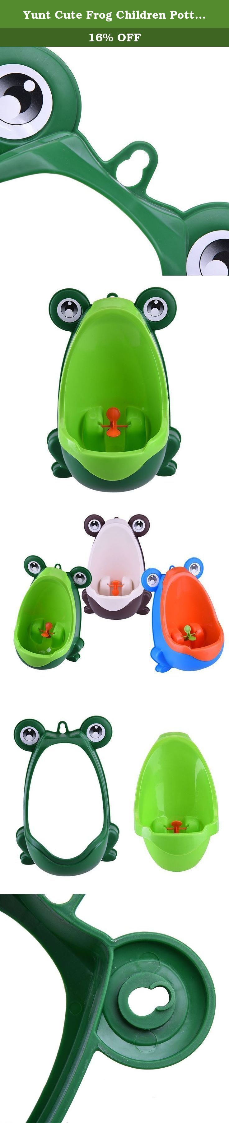 Yunt Cute Frog Children Potty Toilet Training Kids Urinal for Boys Pee Trainer Bathroom(Green). A wonderful gift to your baby and your friends. Environmentally friendly material, nontoxic and no peculiar smell; Frog shape and rotating windmill improves your babies' interest; Large capacity ensure the urine will not overflow; Strong sucker can adjust the height of the item according to baby; Urine groove separation design and light surface makes the item easy to clean; 100% Brand New and…
